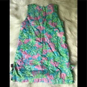 Lilly Pulitzer Dresses - Lilly Pulitzer Girls shift Dress flamingo print